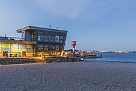 Germany, Schleswig-Holstein, Eckernfoerde, Baltic Sea Information Centre and new lighthouse - KEBF000390