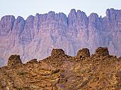 Oman, Ad-Dakhiliyah, Jabal Misht, Al-Ain, beehive tombs, site of an excavation - AMF004949