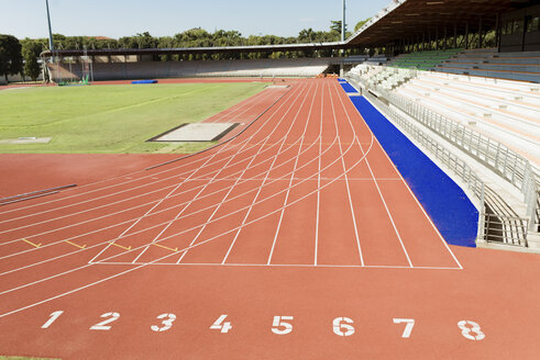 Italy, Florence, track and field stadium - FMOF000100