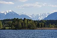 Germany, Bavaria, Upper Bavaria, Alps, Staffelsee lake - TCF005070