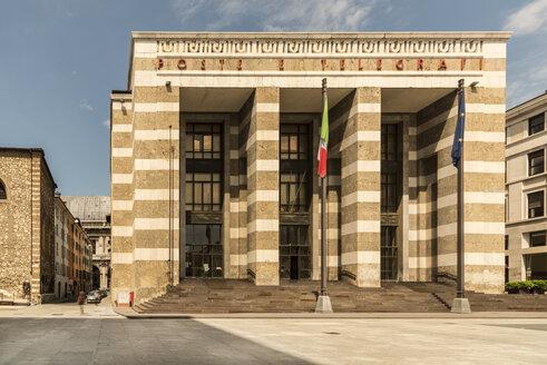 Italy, Brescia, view to General Post Office at Piazza della Vittoria - CST001095