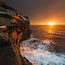 Australia, New South Wales, coast at sunrise - GOAF000018