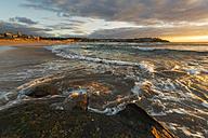 Australia, New South Wales, Bondi, Beach in the evening - GOAF000057