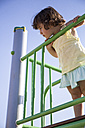 Little girl on playground - ABZF000981