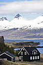 Iceland, black house and landscape - FDF000201