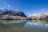 Canada, Alberta, Banff National Park, Bow Lake - SMAF000535