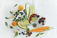 Superfood, various vegetables and fruits - ASF005989