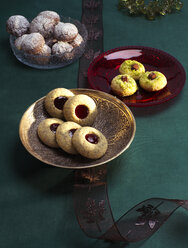 Selection of various Christmas Cookies - PPXF000002