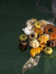 Selection of various Christmas Cookies - PPXF000005