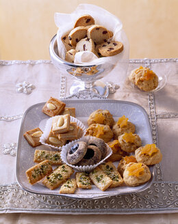 Selection of various Christmas Cookies - PPXF000014