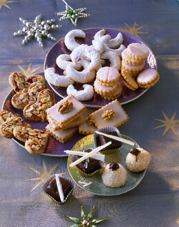 Selection of various Christmas Cookies - PPXF000017
