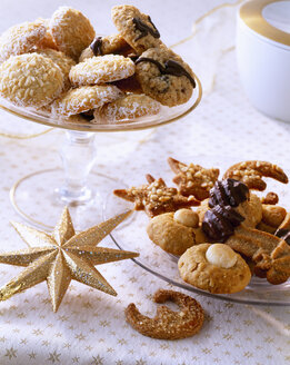 Selection of various Christmas Cookies - PPXF000020
