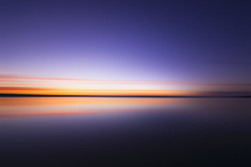 Scotland, East Lothian, Dunbar, abstract sunset - SMAF000574