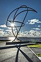 Estonia, Tallin, Pirita, Charles Leroux Memorial, sculpture, parachutist - CST001207