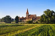 Germany, Nuremberg, Kraftshof, view to fortified church St. George - SIEF007101