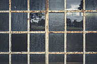 Germany, Elstal, Olympic village, partial view of divided light window - ASCF000642