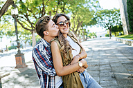 Happy young couple in love - KIJF000745