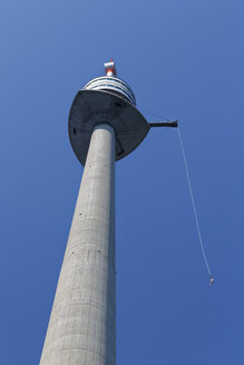 Austria, Vienna, Donauturm, bungee jumping - GF000767