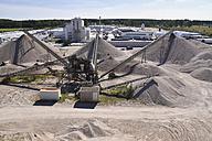 Conveyor belts in gravel pit - LYF000561