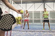 Paddle tennis class - JASF001107