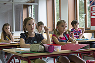 Attentive pupils at classroom - SARF02878