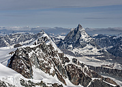 Italy, Gressoney, Alps, Zermatt and the Matterhorn - ALRF00725