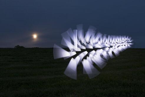 Germany, Bremerhaven, light paining - SJF00176