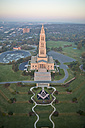 USA, Virginia, Aerial photograph of the George Washington Masonic Memorial in Alexandria - BCDF00115