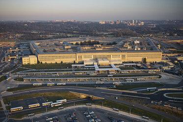 USA, Virginia, Arlington, Aerial photograph of  the Pentagon - BCD00118