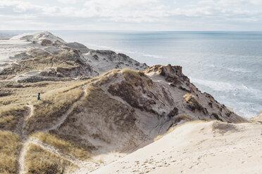 Denmark, North Jutland, steepcoast at lighthouse Rubjerg Knude - MJF02038