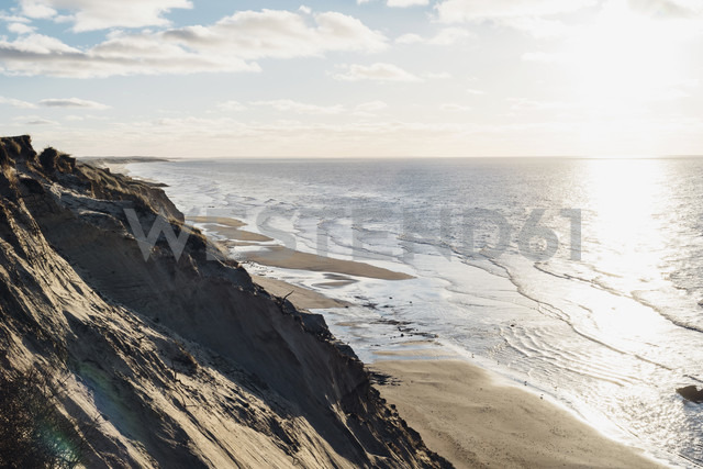 Denmark, North Jutland, steepcoast at lighthouse Rubjerg Knude - MJF02050
