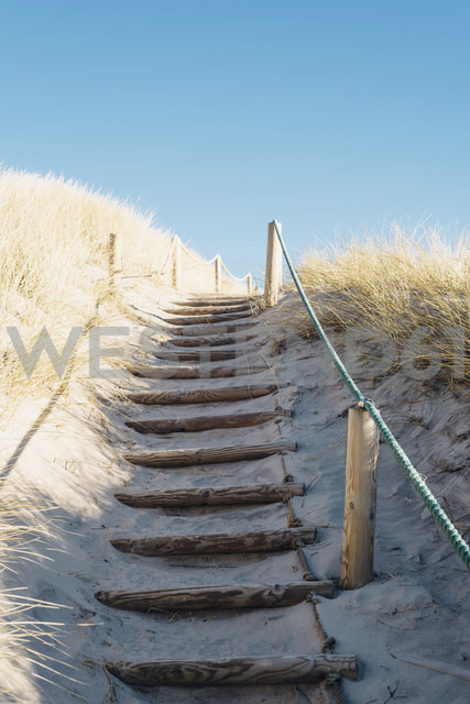 Denmark, Hirtshals, path through dunes - MJF02068 - Jana Mänz/Westend61