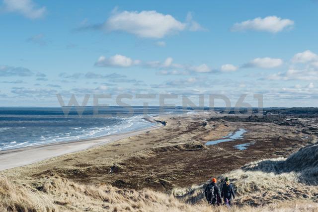 Denmark, North Jutland, dune landscape at Bulbjerg - MJ02071
