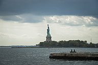 USA, New York City, Statue of Liberty on Liberty Island - STCF00280