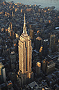 USA, New York State, New York City, Cityscape with Empire State building in the morning - BCDF00208