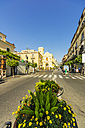 Italy, Campania, Sorrent, street and houses - THAF01814