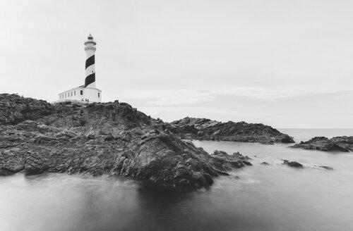Spain, Balearic Islands, Menorca, Favaritx lighthouse - RAEF01509