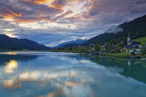 Austria, Carinthia, Techendorf at Lake Weissensee - GFF00785