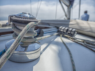 Detail of a sailing boat - LOMF00406