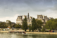 France, Paris, Tourist boat on river Seine - FC01086