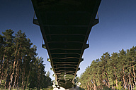 Reflection of a bridge in water - JMF00384