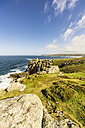 UK, Cornwall, Lands End, Cliffs near Penzance - THAF01845