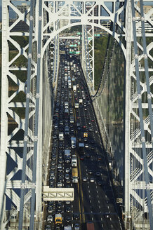 USA, New York City, George Washington Bridge - BCDF00222