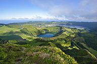 Portugal, Azores, Sao Miguel, Caldera Sete Cidades - RJF00627