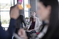 Business people greeting at meeting - ZEF10933