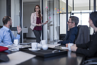 Business people having a meeting in office - ZEF10939