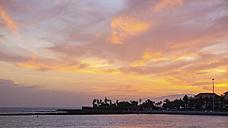 Spain, Tenerife, Coastal silhouette - SIPF00986