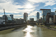 Germany, Dusseldorf, view to Media Harbour - FRF00476