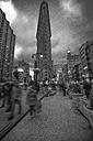 USA, New York City, Manhattan, Flatiron Building in the evening - ZEF11092
