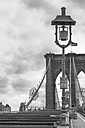 USA, New York City, part of Brooklyn Bridge - ZEF11101